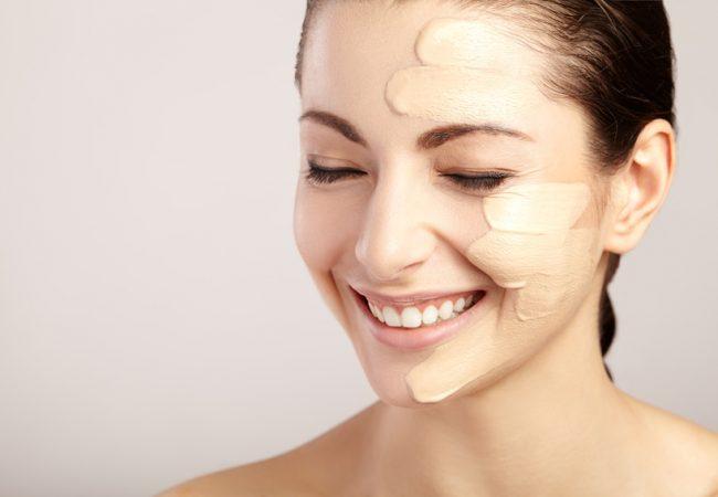 Vejledning fra en skønhedsekspert. Hvordan afpasser man foundation efter en bestemt hudtype?